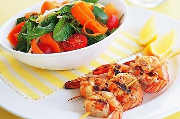 healthy prawn salad Dietitian Brisbane Nutrition Information